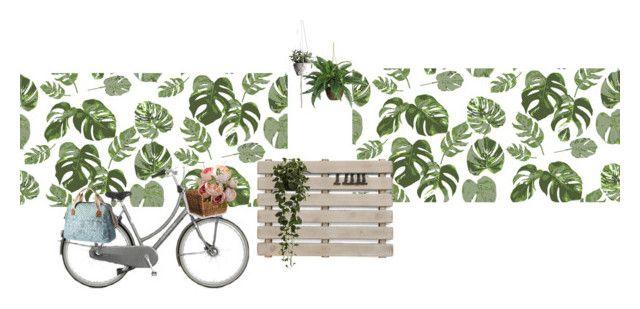 """fiets etalage lente"" by lieziexoxo on Polyvore featuring kunst"