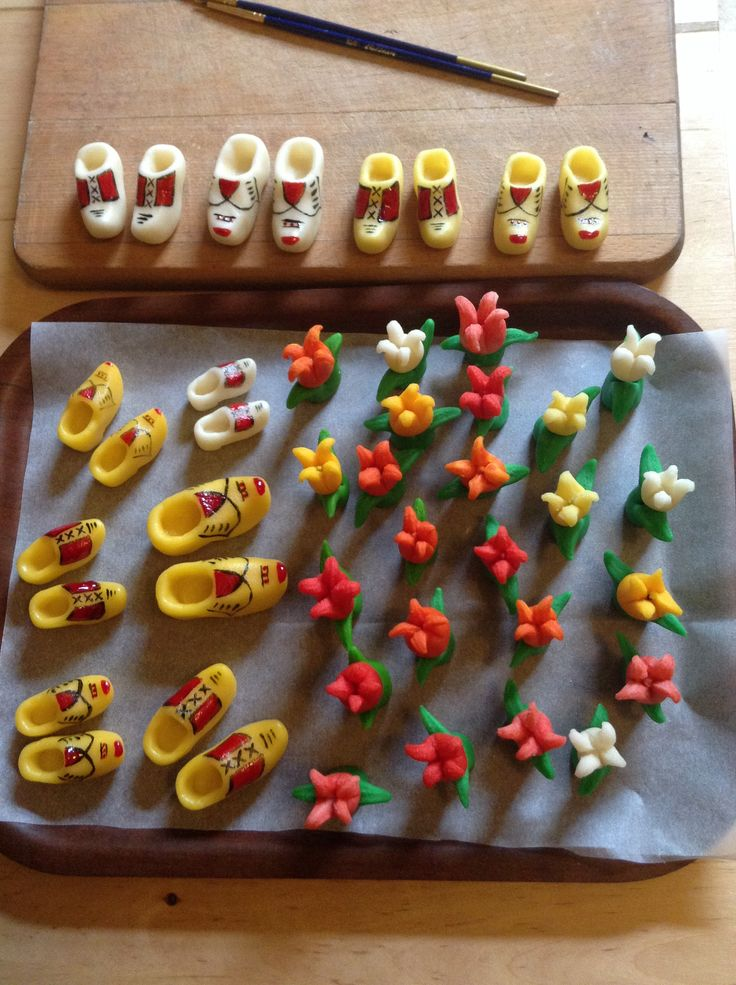 ...marzipan tulips and clogs.