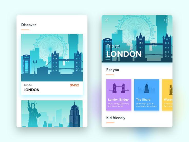 Trips App Design by Sourav Maity  #Design Popular #Dribbble #shots