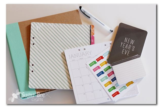 Diy Notebook Calendar : Calendar notebook via michaels recollections