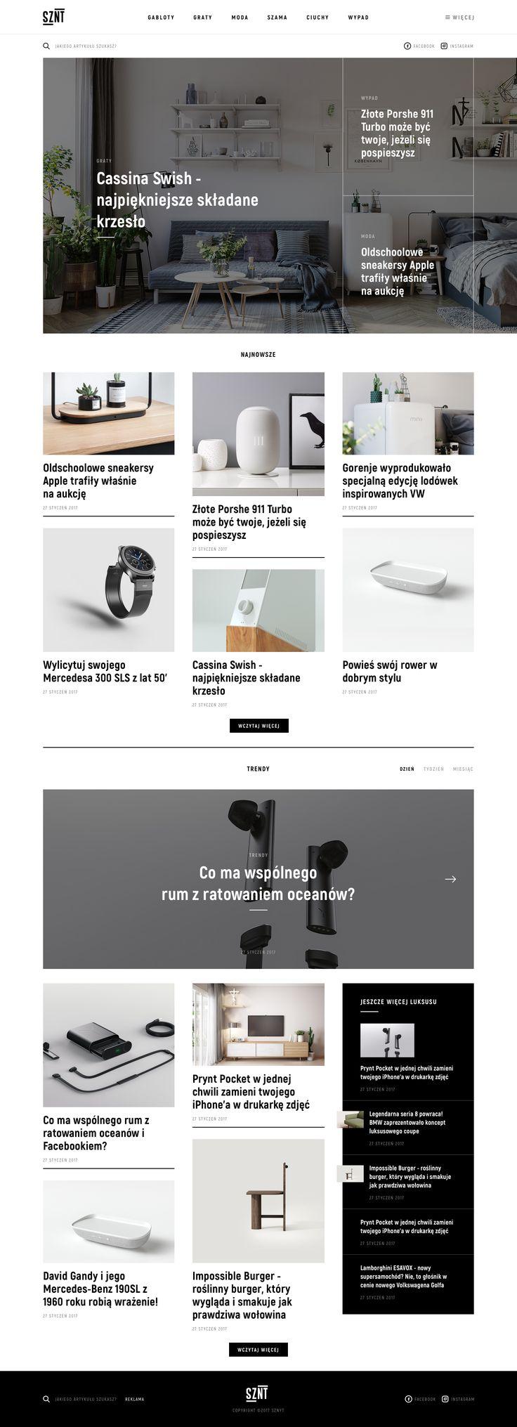 Sznyt homepage