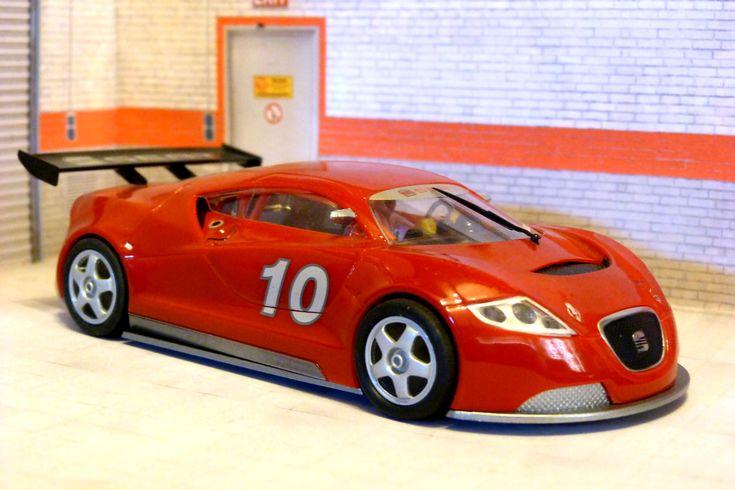 Scalextric Tecnitoys 6158 SEAT Cupra GT Campeonato de España GT 2004 #slot #slotcar #seat