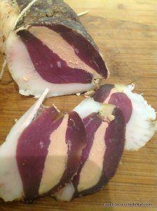 magret séché maison au foie gras