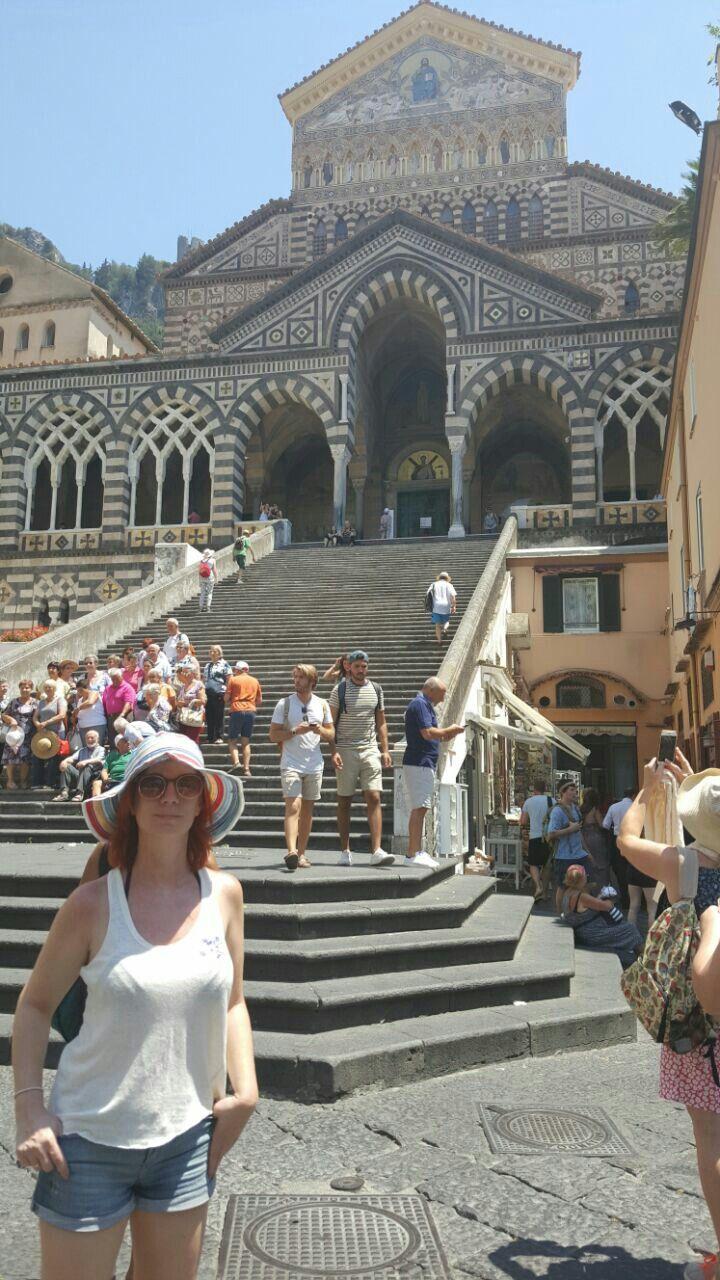 El Duomo de Amalfi, Italia.