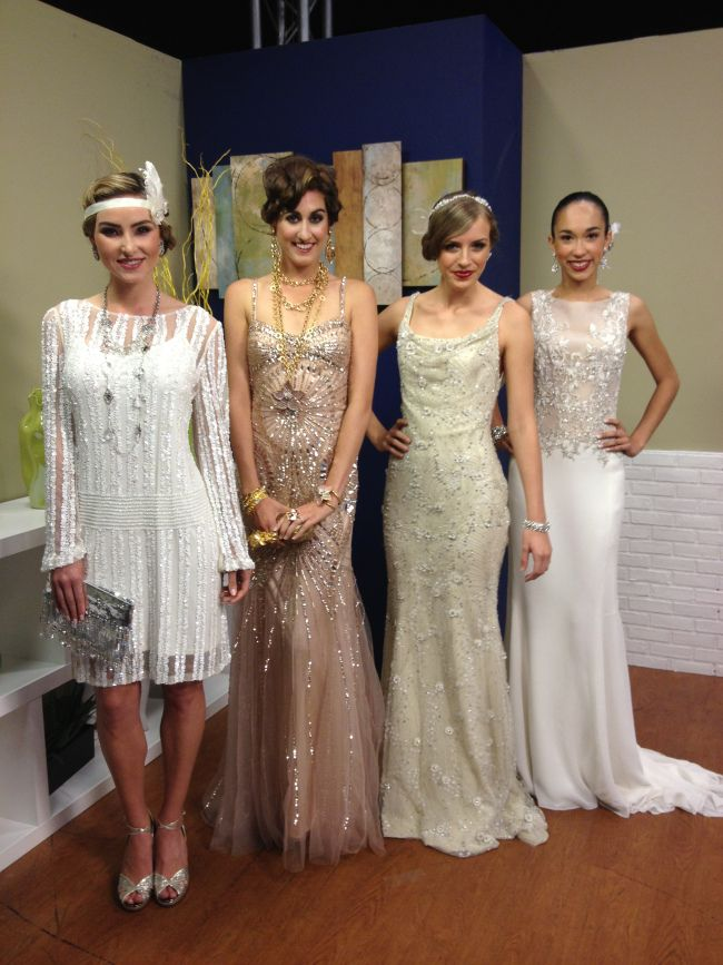 Life Love Shopping, Solutions Bridal and myself partnered today to talk everything party and bridal fashions inspired by The Great Gatsby movie! Party looks provided by Neiman Marcus and gowns pro…