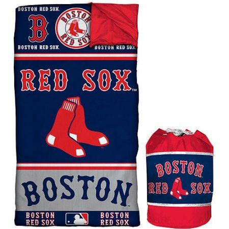 MLB Red Sox Sleeping Bag Duffle, Multicolor