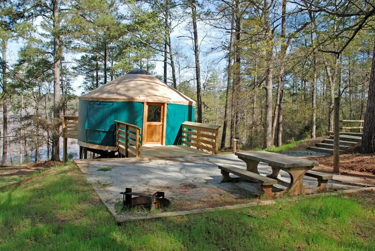 A yurt is a great middle ground between tent camping and a cabin. Lucky for Georgian residents, there are five state parks that offer yurt rentals, with more on the way.