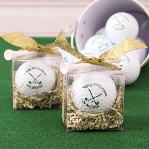 Personalized Golf Balls by Beau-coup