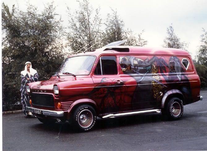 custom vans | Ford Transit Forum • View topic - old custom vans