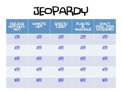 CoZy BuGz: Pre-Camp Certification Jeopardy