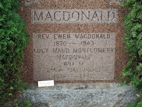 """The epitaph L.M. Montgomery wanted on her grave: """"After life's fitful fever, she sleeps well"""""""