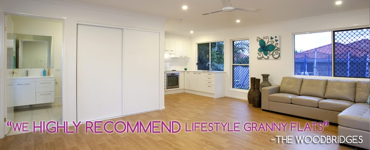 Spacious and stylish #grannyflat design. Our Granny Flats have all the special features of a small house.