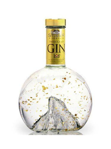 Studer Swiss Gold Gin: #gindrinks