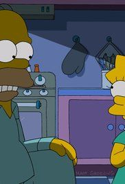 Simpsons Season 25 Episode 1. Homer returns from a nuclear power convention a changed man, and Lisa begins to suspect that he has become a domestic terrorist.