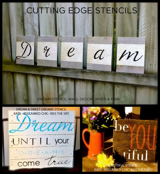 17 best wall stencil quotes on pinterest quotes for for Quote stencils for crafts