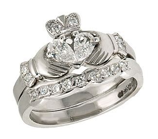 engagement rings from around the world - Claddagh Wedding Rings