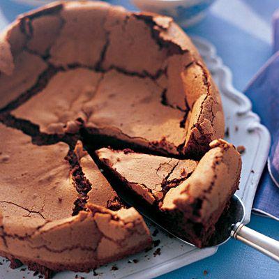 Dark Chocolate Flourless Cake Sugarfree