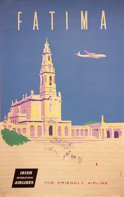 Fatima with The Friendly Airline by National Library of Ireland, via Flickr