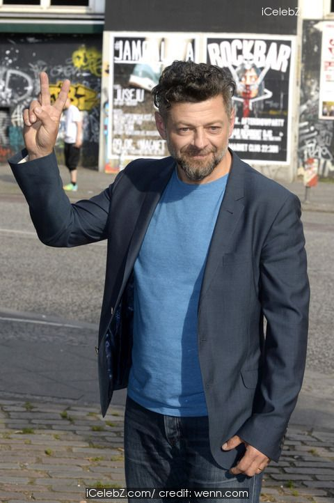Andy Serkis 'Dawn of the Planet of the Apes' photocall on the Oberbaum Bridge http://icelebz.com/events/_dawn_of_the_planet_of_the_apes_photocall_on_the_oberbaum_bridge/photo1.html