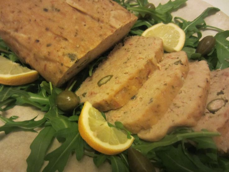 Tuna Loaf with Capers and Oregano www.easyitaliancuisine.com