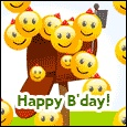 Home : Birthday : Wishes - Bunch Of Smiles...