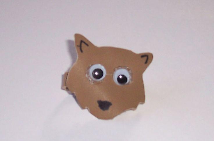 Wolf Neckerchief Slide Craft | Kool ideas :-) | Pinterest