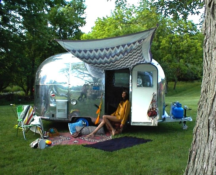 1963 airstream 16 ft bambi = camping boheme | bambi ...