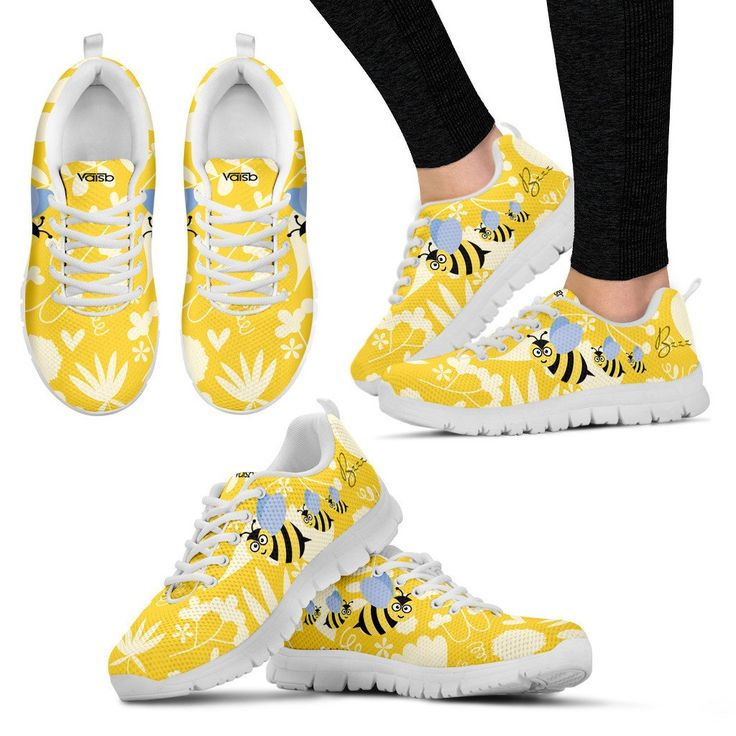 Cute Bee -  Breathable & Lightweight Women's Running Shoes