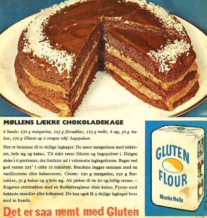møllens lækre chokoladekage