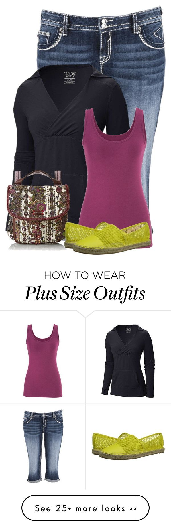 """Untitled #9013"" by nanette-253 on Polyvore featuring maurices, Mountain Hardwear, Sakroots and Circus By Sam Edelman"