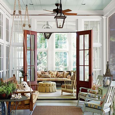 Porch- Southern living is the best