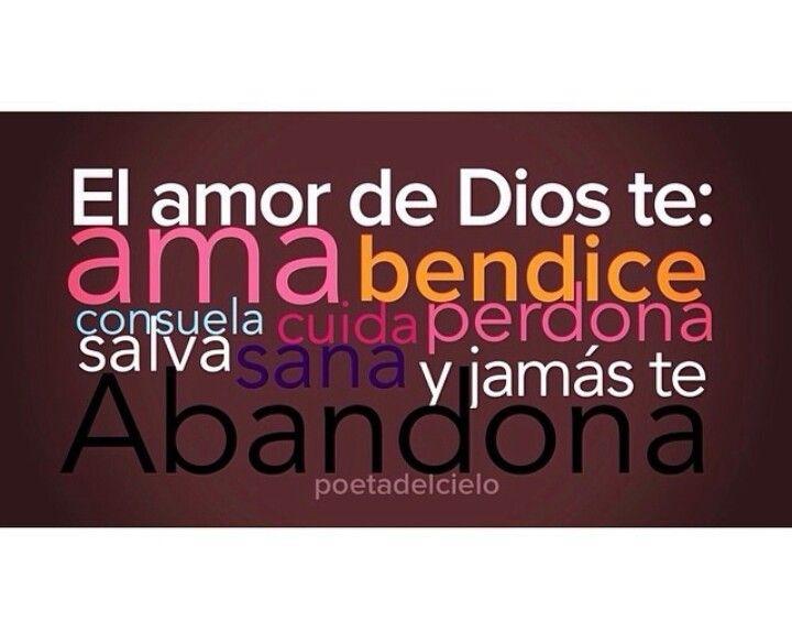 El amor de Dios...