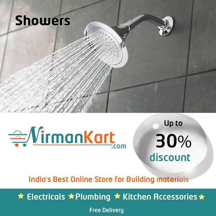 Buy Sinks at NirmanKart.com with 30% discount,  https://www.nirmankart.com/buy/plumbing_sanitary/showers