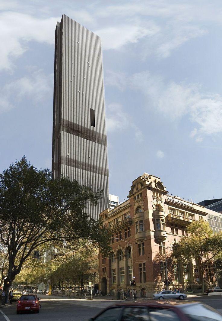 568 Collins Street, Melbourne-Australia, 224 m, UC-completion 2015, architect-Bruce Henderson Architects