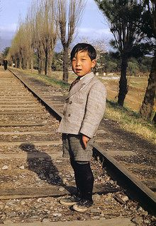 Korean boy, 1952 | by Kenneth H. Lehr