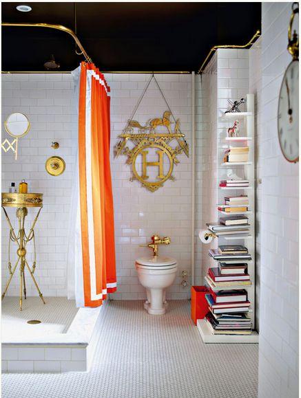 Banheiro com biblioteca foi um dos destaques de setembro