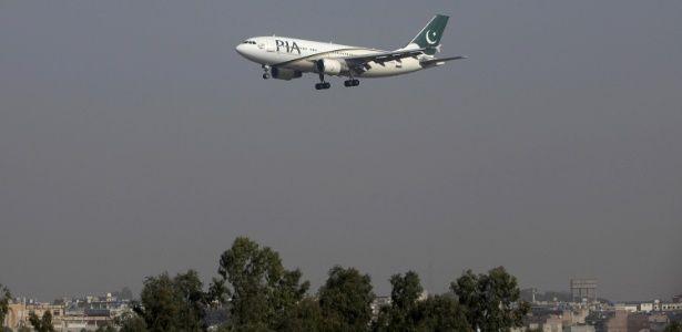 serido noticias: Mundo-Geral. Um avião da Pakistan International Ai...