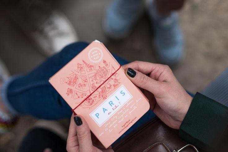 Mini Mini Map Paris para Colorir - R$ 35,00