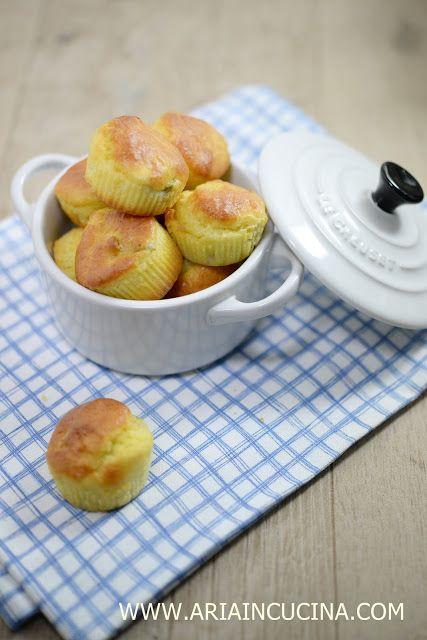 Blog di cucina di Aria: Mini Muffins alle olive