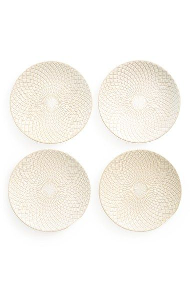 Saro+'Diamant+Design'+Plates+(Set+of+4)+available+at+#Nordstrom