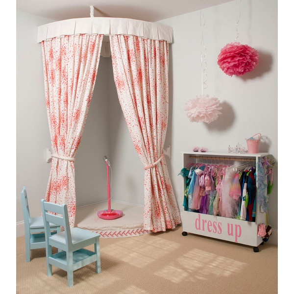 Playroom - traditional - kids - wilmington - by Liz Carroll Interiors ❤ liked on Polyvore
