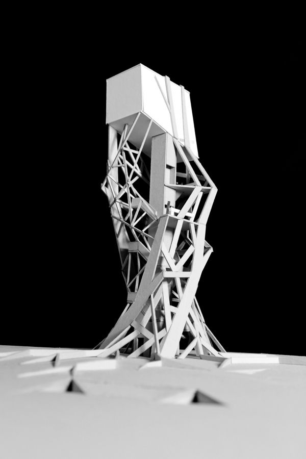 Water Tower by Aman Yusuf, via Behance