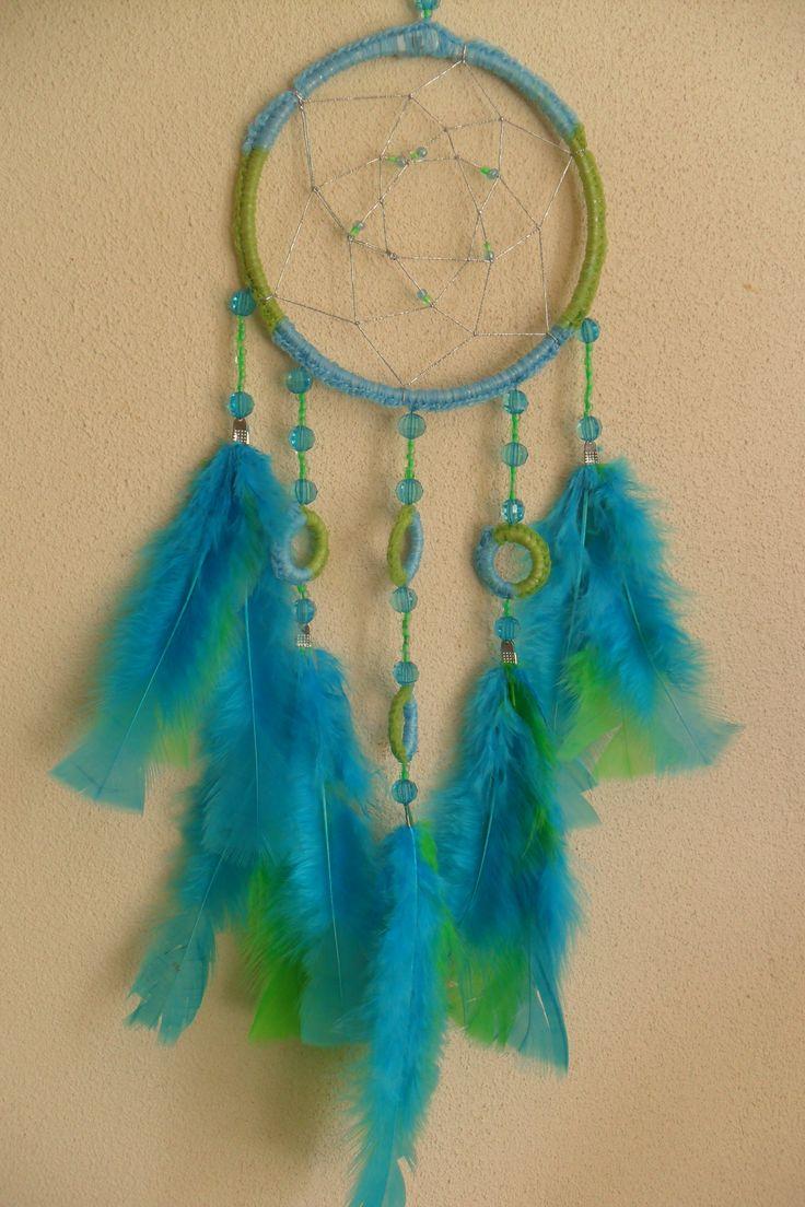 Groen/blauwe dromenvanger