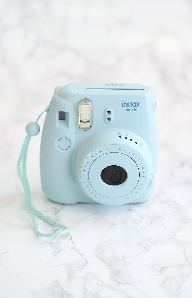 Fujifilm Instax Mini 8 Camera + Film Blue | Beginning Boutique shop new @ www.bb.com.au/new