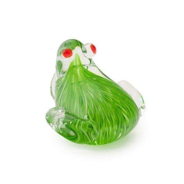 Grenouille en verre objets d co animaux pinterest for Objet deco animaux