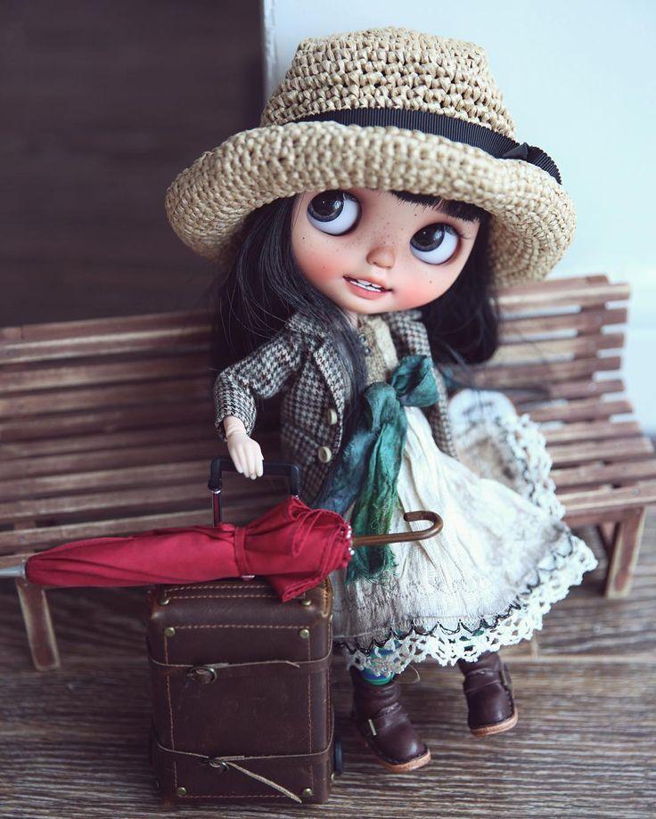 #blythe #wanwandoll#dolls I'm going home...@tiinavanhatupa