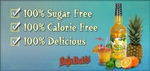 Sugar Free Cocktail Mixes Thanks To Baja Bob's