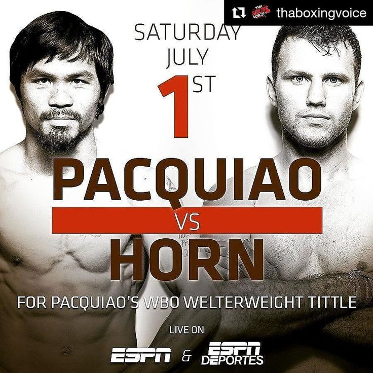 #Repost @thaboxingvoice ・・・ @mannypacquiao will be fight Live on ESPN for the entire world to watch. Also, @mickconlan11 will be on the undercard in front of possibly 55,000 fans in attendance!  What do you think? Huge for boxing?  @trboxing @espnboxing @espn #Boxeo #Boxing #Thaboxingvoice  #Voiceofthepeople  #TBVPODCAST 🎧