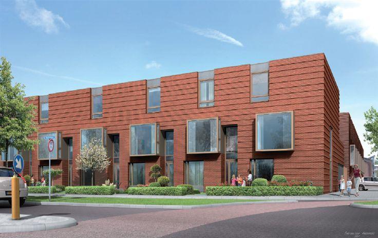 Mooie rijtjeswoning geeft een strakke uitstraling het for Moderne strakke huizen