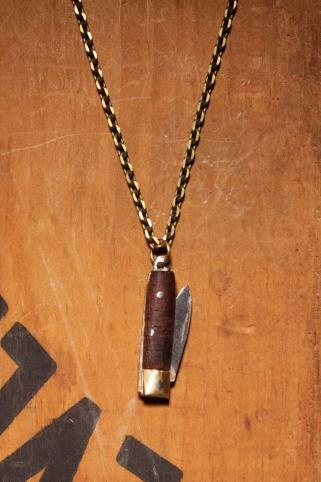 Knife Necklace Men's necklace or women's necklace by weareallsmith, $29.00